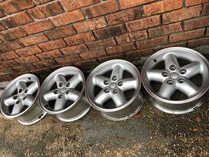 15x7 jeep wheels.... 5x4.5 bolt pattern for Sale in Baton Rouge, LA