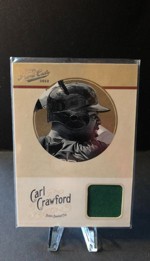 CARL CRAWFORD 2012 Panini Prime Cuts Baseball JERSEY #83/99 Card #12 Red Sox for Sale in Fresno, CA