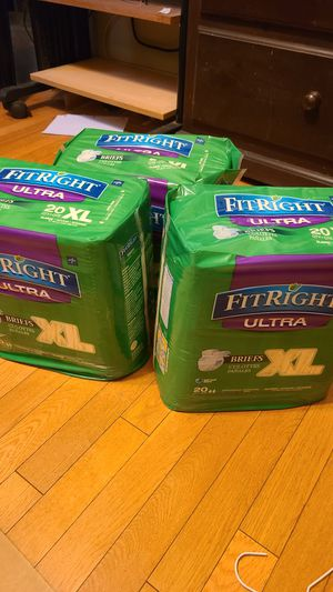Fit right XL diapers for Sale in E RNCHO DMNGZ, CA