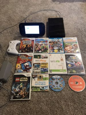 Nintendo Wii U // Controller and Games for Sale in Kent, WA