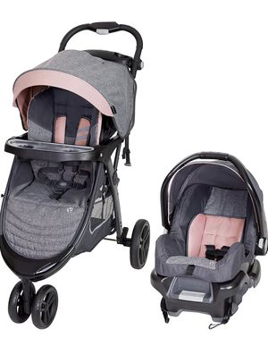 Baby Trend Skyline 35 Travel System, Starlight Pink for Sale in Las Vegas, NV