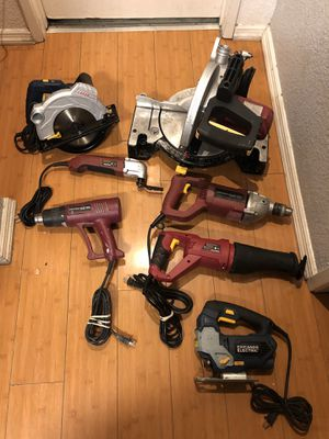 Chicago Power Tools Bundle for Sale in Huntington Park, CA