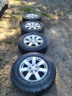 Jeep Aluminum Alloy Rims Set of 4 18's for Sale in Portland, OR