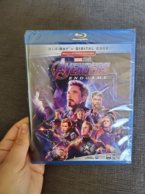 Marvel Avengers Endgame Blu-Ray + Digital Code Brand New for Sale in Yonkers, NY