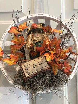 Fall Door wreaths/decorations for Sale in Graham, WA