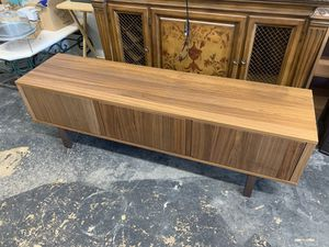 Beautiful wooden mid century tv stand for Sale in Delray Beach, FL