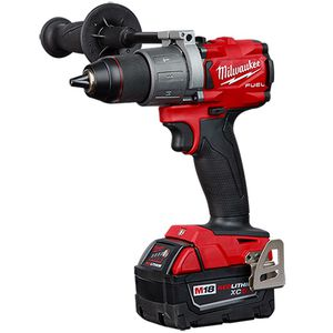 Milwaukee M18 Fuel 18-Volt Lithium-Ion Brushless Cordless 1/2 in. Hammer Drill Driver Kit with one 5.0 Ah Battery, and Charger. for Sale in Joliet, IL
