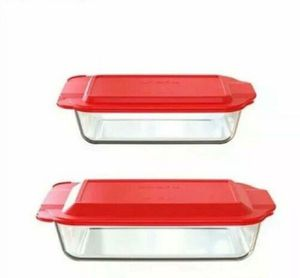 Pyrex 4pc Bakeware Value Set Red NEW for Sale in Plantation, FL
