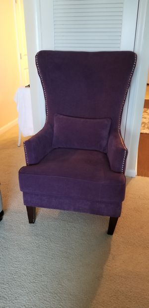 Jacinto Wingback chair for Sale in Cherry Hill, NJ