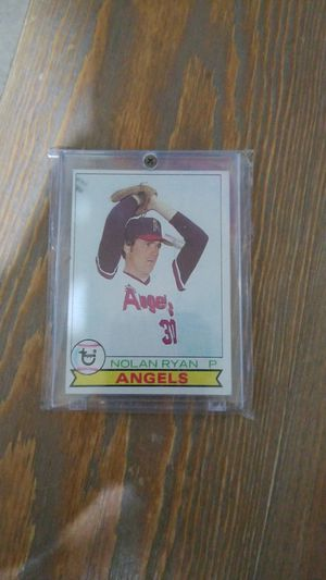 Baseball card- 1979 nolan ryan for Sale in Roseburg, OR