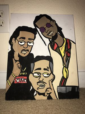 cartoon migos painting for Sale in Tampa, FL