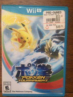 Nintendo Wii U Pokémon tournament for Sale in Visalia, CA