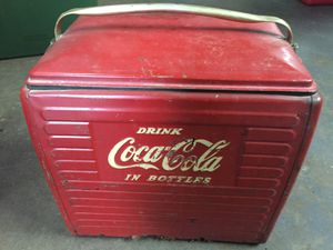 1940s Coca-Cola cooler for Sale in Grand Prairie, TX