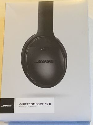 Bose QuiteComfort 35 II Wireless Headphones 🎧 for Sale in Riverside, CA