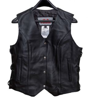 FLASH SALE ONE WEEK ONLY Women's Leather Motorcycle Vest for Sale in Houston, TX