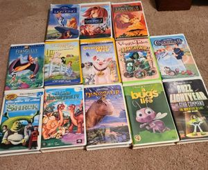 VHS movies for Sale in Bentleyville, PA