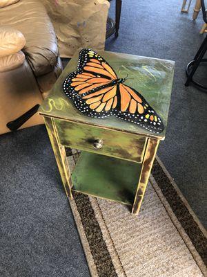 Butterfly endtable for Sale in Punta Gorda, FL