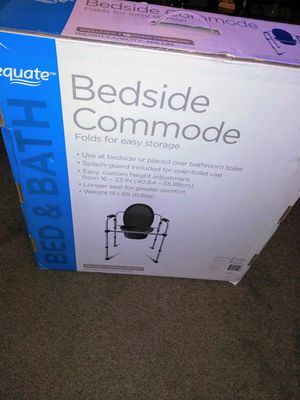 Equate bedside commode new for Sale in Grand Prairie, TX