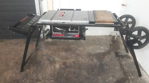 Delta sidekick table rolling table saw for Sale in Chicago, IL
