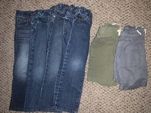 Kids 5T pants and shorts. 2nd picture all short sleeves. 3rd pictures all long sleeves. Last picture everything is 4T for Sale in Austin, TX