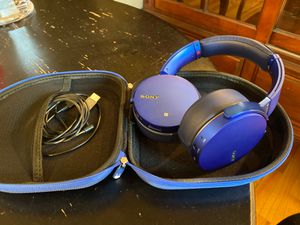 Sony MDR-XB950N1 Headphones for Sale in Redmond, WA