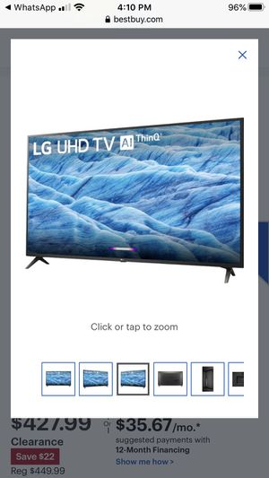 """BRAND NEW TV(box pack)LG -55"""" LED UM7300PUA 2160p Smart 4K UHD HDR for Sale in Queens, NY"""