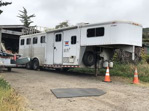 Sooner 4 horse trailer with living quarters. for Sale in Los Osos, CA