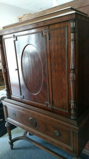 Antique inlay China Cabinet for Sale in Wimberley, TX