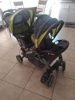 Nice Baby Trend Sit n Stand double stroller for Sale in Lancaster, CA