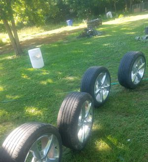 20 inch OEM Camaro wheels offset for Sale in Eudora, AR