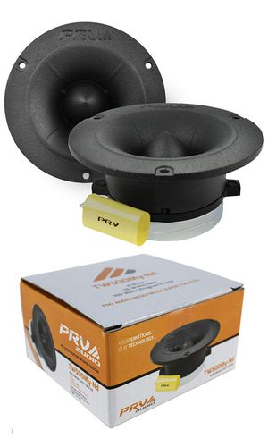 "2X PRV Pro Audio 4"" Super Tweeter 300 Watts 8 Ohm Neodymium Black TW500My-Nd for Sale in Barnegat, NJ"