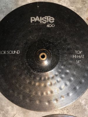 Paiste 400 color sound hats for Sale in Tampa, FL