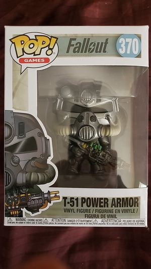 Funko pop, Fallout: T-51 Power Armor for Sale in Tallahassee, FL