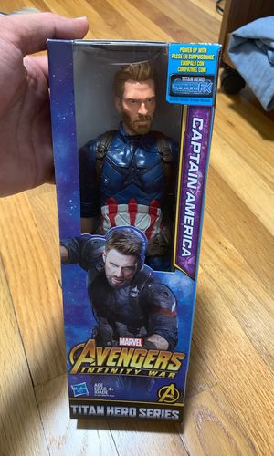 Captain America toy new never user for Sale in Malden, MA