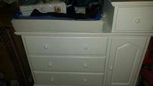 White baby changing table for Sale in Santa Ana, CA