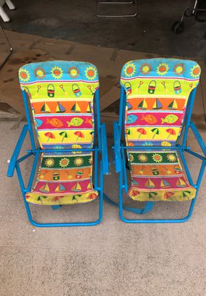 Rio beach kids chairs for Sale in Honolulu, HI