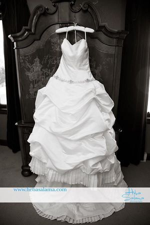 Eve of milady wedding dress for Sale in Durham, NC