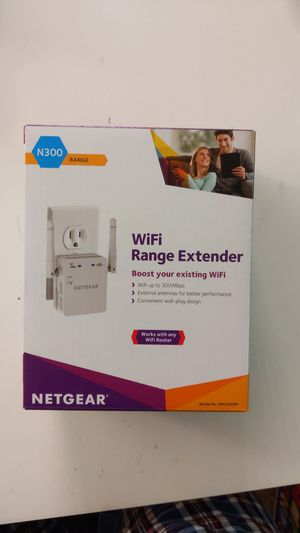 Wifi Extender Netgear N300 for Sale in Mission Viejo, CA