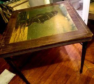 Antique folding table for Sale in Atlanta, GA