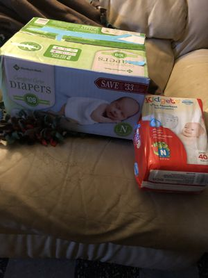 Newborn diapers for Sale in Dearborn, MI