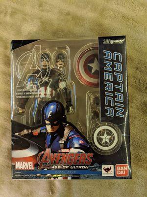 Captain America Age of Ultron SH Figuart for Sale in San Bernardino, CA