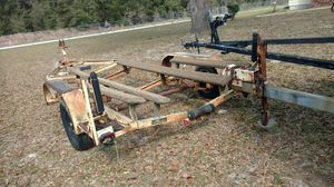 Used boat trailer HD wide . tandem Axle for Sale in Dunnellon, FL