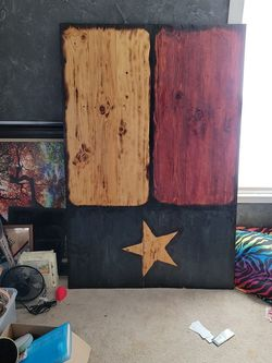 Giant Rustic Texas Flag for Sale in San Angelo,  TX