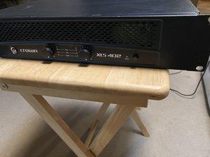 Crown XLS 402 power amplifier/amp for Sale in Turlock, CA