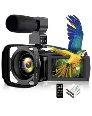 """Video Camera Camcorder IR Night Vision WiFi YouTube Vlogging Camera FHD 1080P 30FPS 26MP 3.0"""" Touch Screen 16X Digital Zoom Digital Camera Video Reco for Sale in Corona, CA"""