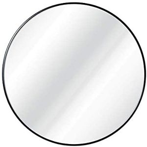 Circle Wall Mirror 30 Inch for Entryways, Washrooms, Living Rooms - Metal Black Round Mirror for Wall for Sale in Sachse, TX