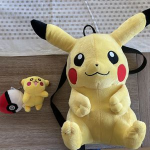 """Pokémon 15"""" Backpack and Keychain for Sale in Belle Isle, FL"""