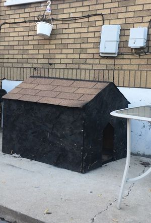 Dog house (large) handmade for Sale in Chicago, IL
