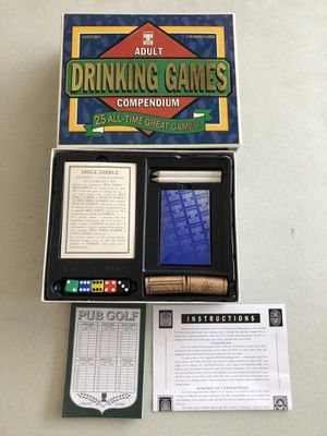 NEW 25 Adult Drinking Games $10 for Sale in Lambertville, MI