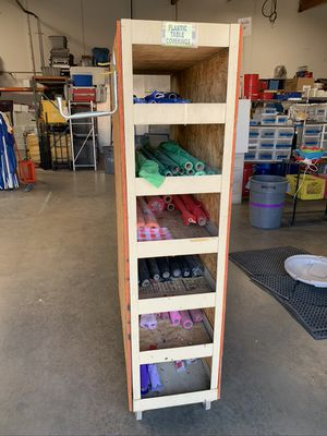Industrial 7 Shelf Utility Storage Cart on Wheels for Sale in Chino, CA